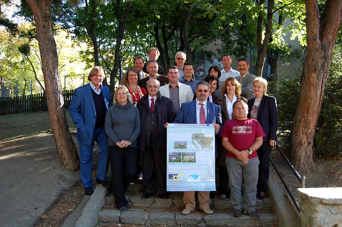 Predstavnici partnera u projektu. Sastanak u Beču 2012. godine