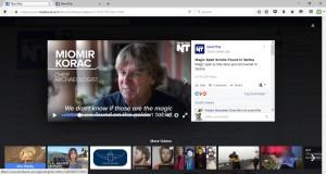 Viminacium magic scrolls video